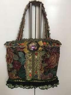 Lace design baag