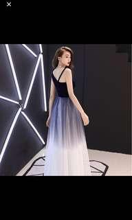 🚚 Blue Wedding Dress