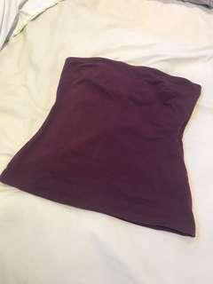 Supre strapless top