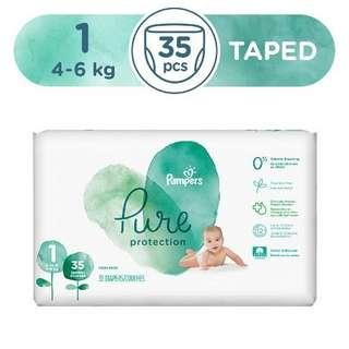 Pampers pure size S