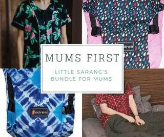Mums First Bundle - Newborn Carrier Bundle Set ($75)