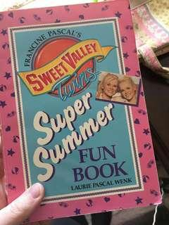 Sweet Valley Super Fun Book
