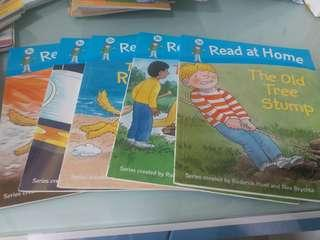 Oxford Reading Tree  read at home (level 3,4)