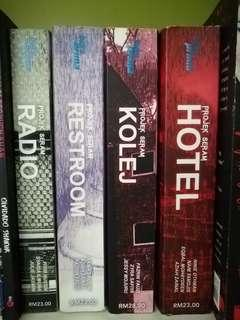 Projek Seram Novel Melayu