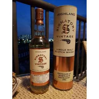 Signatory Vintage - Mortlach 1991 16 Years Old Single Malt