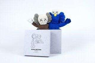 KAWS Seeing/Watching Limited Edition Plush