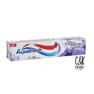 Aquafresh英國家護美白牙膏 125mL