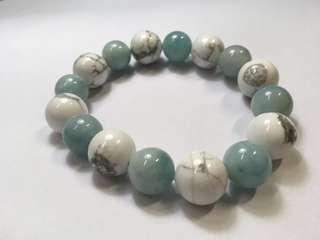 海藍寶白松石