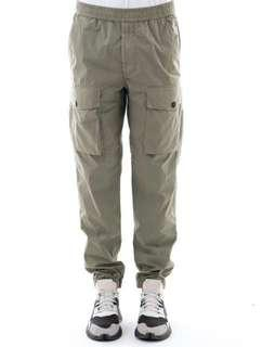 STONE ISLAND CARGO COTTON TROUSERS (701531703-V0055)