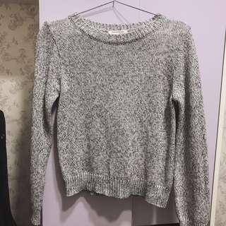 🚚 灰色毛衣