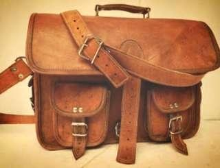 Goat Skin Leather Bag