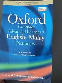 Oxford Dictionary English-Malay