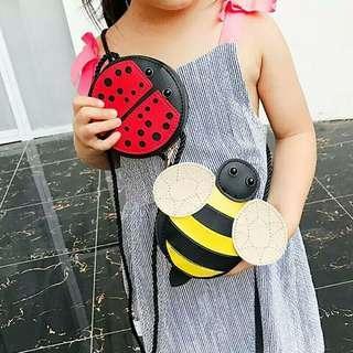 Bumblebee bag n Lady bug bag