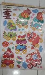 Sticker dinding