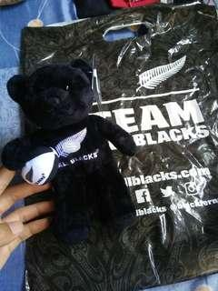 🚚 All blacks Beanie Bear HAKA sound