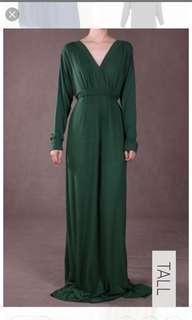 Poplook Emerald Dress