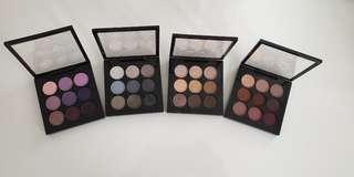 MAC eyeshadow palettes x 4