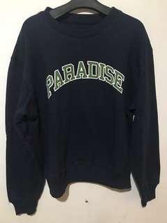 paradise youth club sweater crewneck