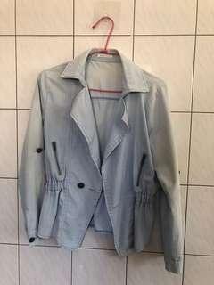 🚚 外套 休閒外套 刷色復古懷舊風
