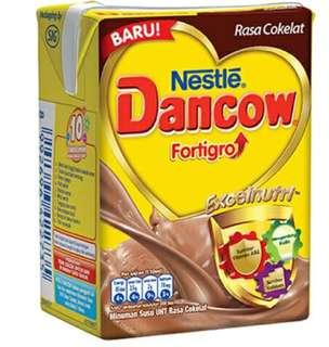 susu dancow coklat