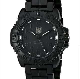 BN Luminox Submariner Limited Ed Sea Black Dial Rubber.Silicone Strap Men's Watch A.3052.BO SUB