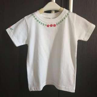 Flower shirt handmade