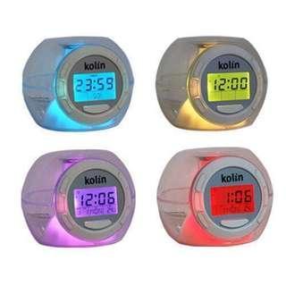 🚚 Kolin 自然音水晶計時器 鬧鐘
