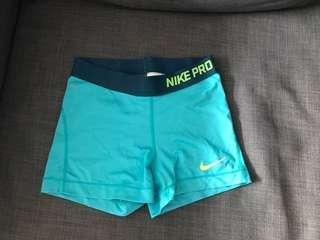 Nike Pro Dri Fit Turquoise
