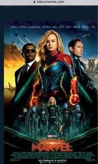 Captain marvel 2 Mbo ticket