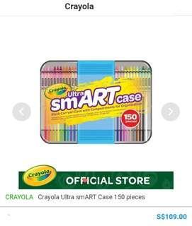 🚚 Brand New Crayola Ultra Smart Case. Cost price $109