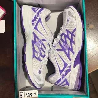 Grosby sport sprint white/purple runners