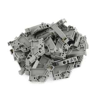 35mm DIN Rail Terminal Block End Stopper Mounting Clips