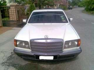 Mercedes-Benz 280SE Classic Car 1981