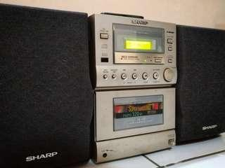 Sharp XL-521 Micro Components Speaker System