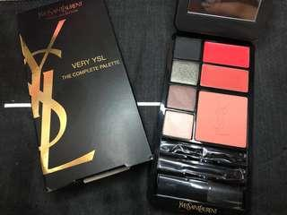 YSL VERY YSL THE COMPLETE PALETTE travel selection 眼影腮紅唇彩專櫃正品