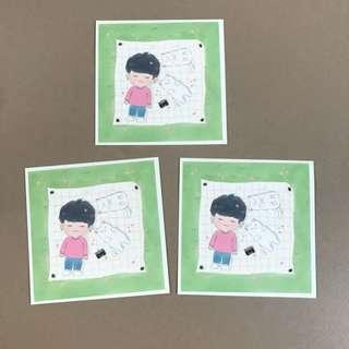 BTS Suga Stickers