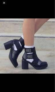 topshop buckle boots