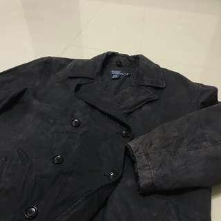 Polo Ralph Lauren 古著排扣外套 羊毛外套 古著大衣 vintage