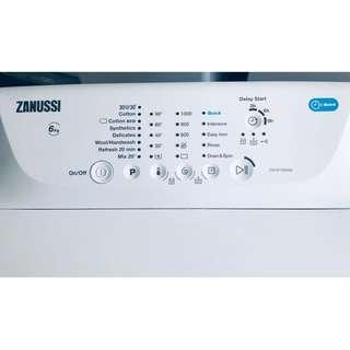洗衣機(上置) 新款1000轉 95%新ZWY61004SA 有保用 包送貨及安裝 雪櫃