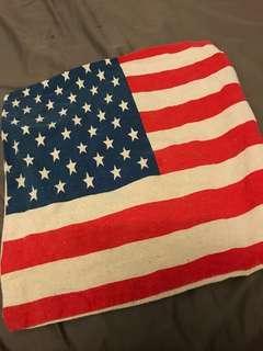 🚚 美國國旗枕套