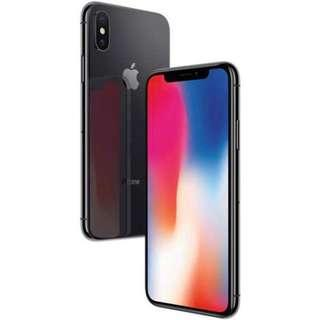 IPHONE X 256gb space grey with full box