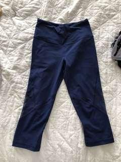 Victoria secret navy blue cropped tights