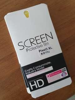 Pixel 3 XL soft screen protector (easy application)