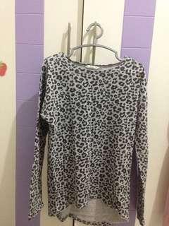 H&M Kids Basic Leopard Print Top for Girls