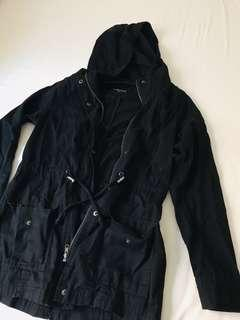 CottonOn Black Parka