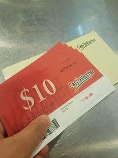 🚚 $50 CapitaVoucher