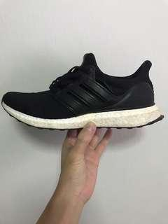 🚚 Adidas Ultra Boost 3.0 Leather Cage US9