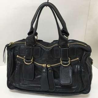 90% new新 - Chloe Leather Handbag (Made in Italy) - Chloe真皮手挽手袋/手提包