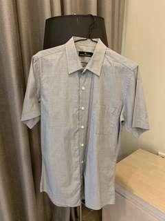 Jack london grey formal shirt