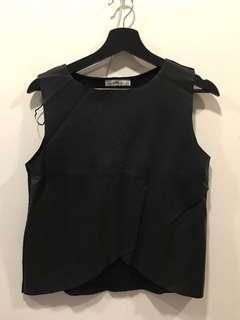 Zara黑色小背心